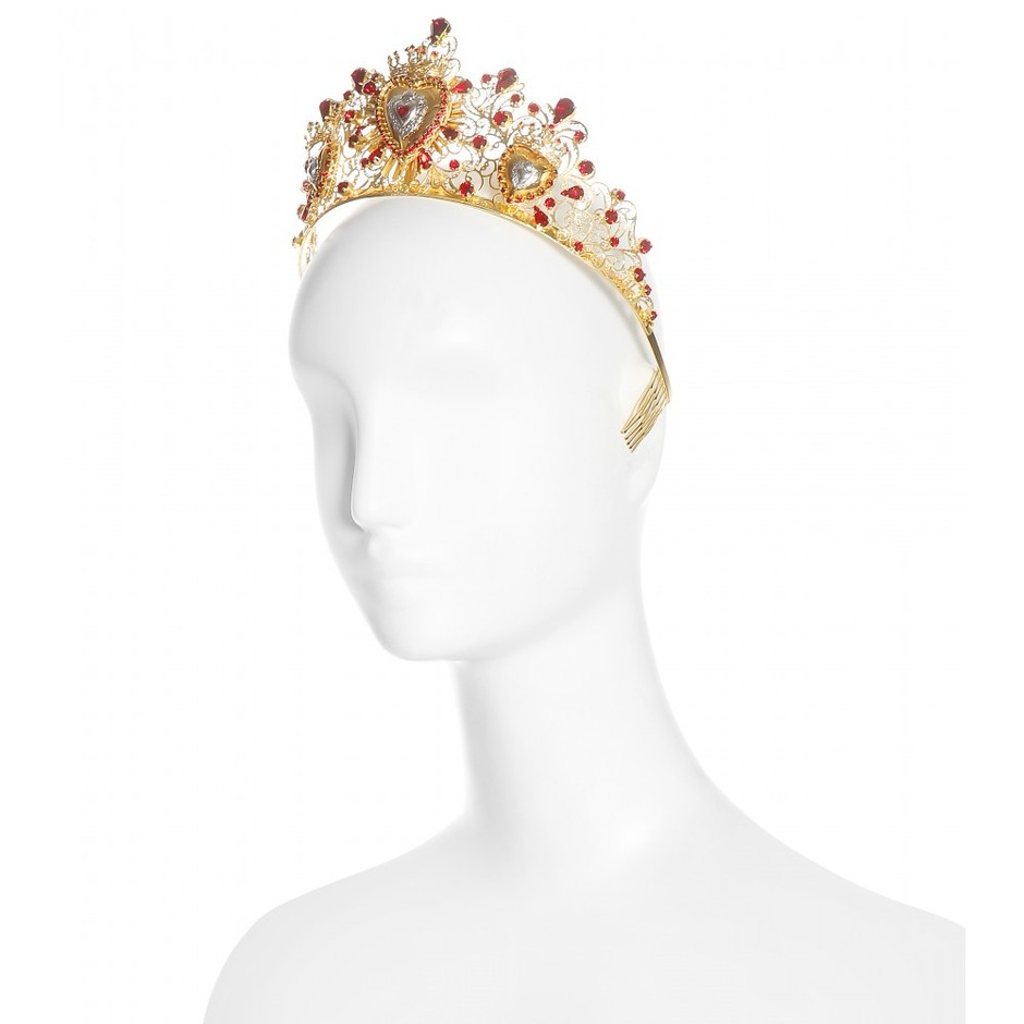 mytheresa.com - Crystal-embellished tiara - Hair accessories - Accessories - Dolce & Gabbana - Luxury Fashion for Women / Designer clothing, shoes, bags
