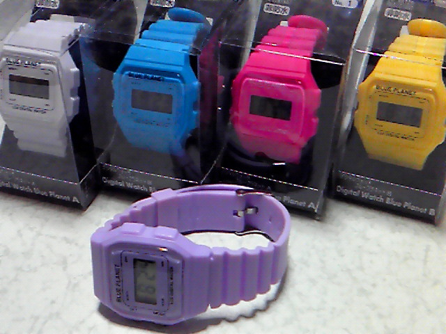 Digital Watch Blue Planetの画像(1/1) :: Bottoms up!!