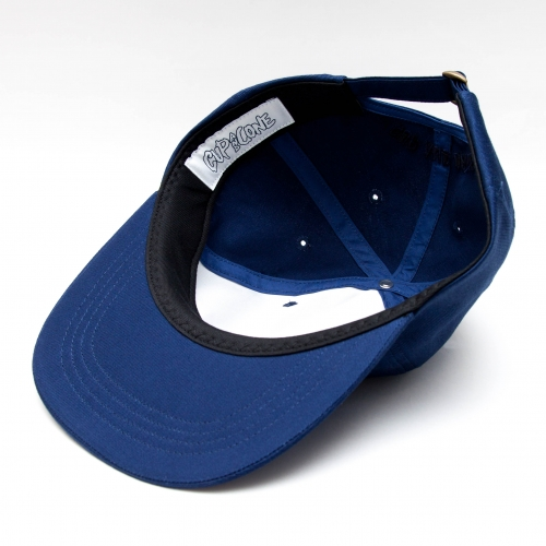 Six Panel Cap - Navy - cup and cone WEB STORE