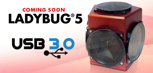 Point Grey - 360 Spherical - Ladybug5 - USB 3.0 Camera