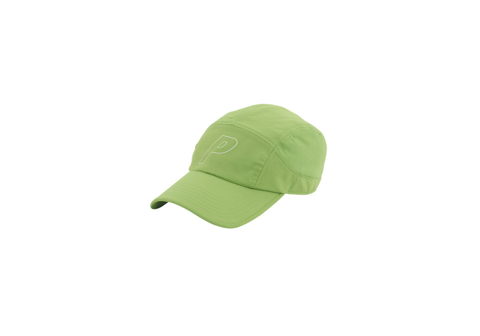 Nylon 7 Panel Cap Lime | Palace Skateboards