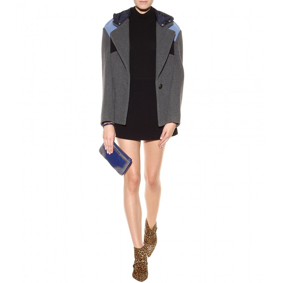 mytheresa.com - Studded leather clutch - Current week - New Arrivals - Luxury Fashion for Women / Designer clothing, shoes, bags