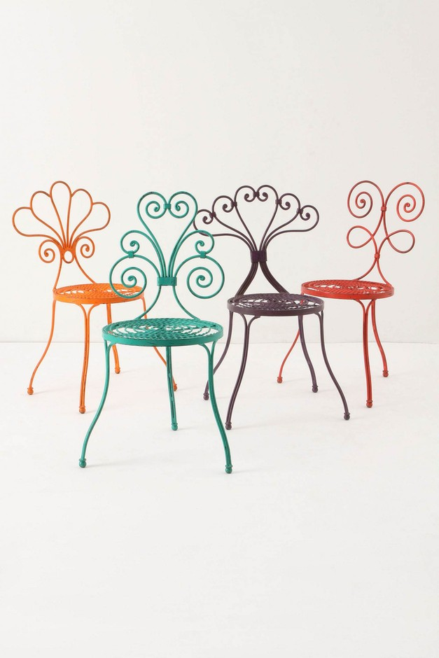 Le Versha Chair, Red - Anthropologie.com