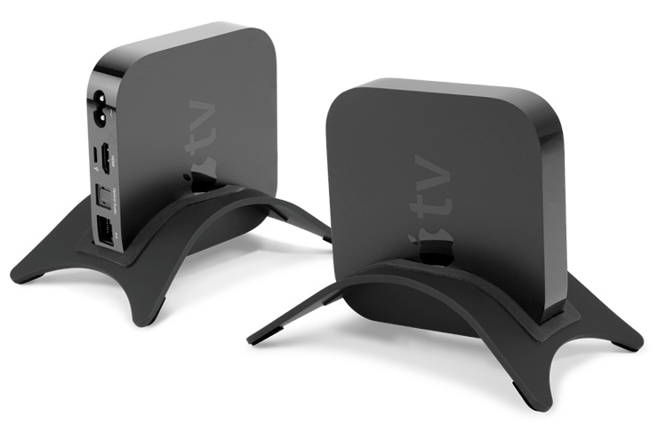NewerTech NuStand Alloy Display Stand for Apple TV   Pleiades