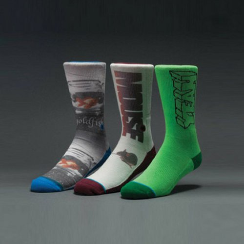 STANCE - GIRL 20th (Green) - Growth skateboard elements