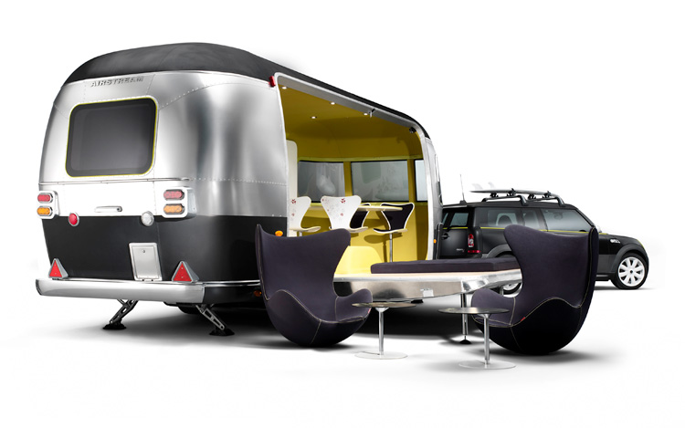 Mini Cooper S Clubman, Airstream Combo -- A Fritzified Beachfront Dream Machine - WOT on Motor Trend