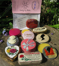 Andrea Garland vintage lip balm - recycling has never been more attractive : Hippyshopper