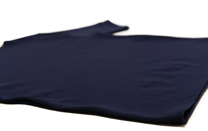 SAINT JAMES/Ouessant Short Sleeve Shirts-Navy