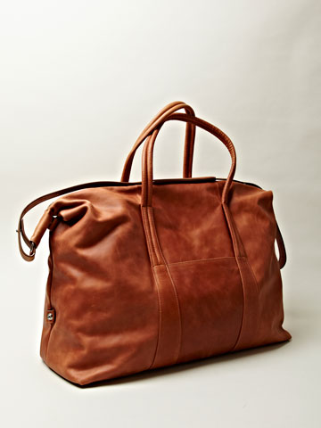 Maison Martin Margiela 11 Men's Leather Weekend Bag | LN-CC