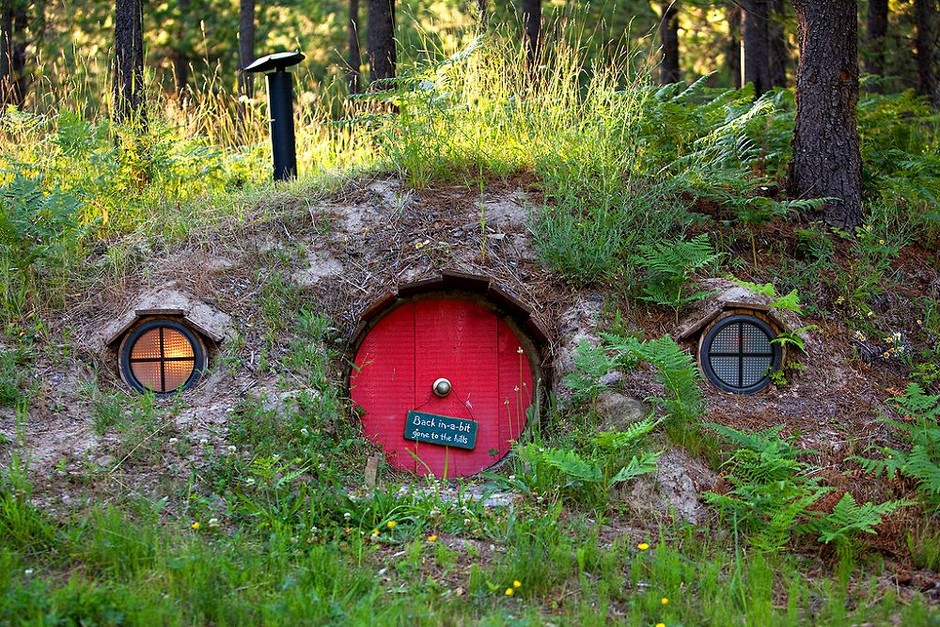 Hobbit House of Montana - like no other