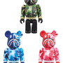 MEDICOM TOY - BAPE(R) CAMO SHARK BE@RBRICK 100%