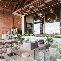 American Tea Room's Ultra Hip Warehouse Lounge Now Serving in Arts District - Eater LA