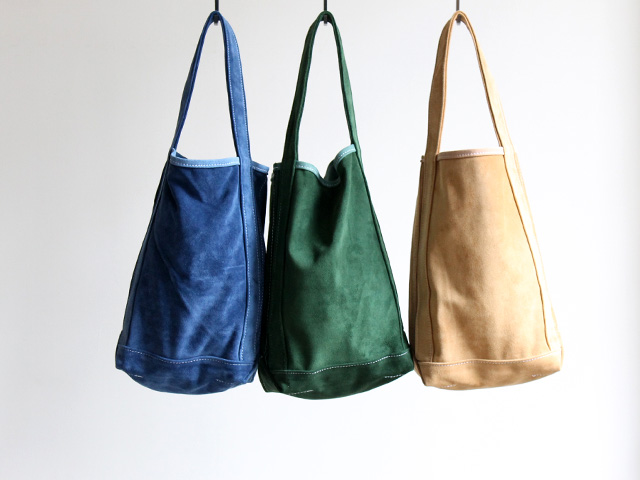 TEMBEA テンベア ALL SUEDE BAGUETTE TOTE  (オールスウェード バゲットトート) 商品詳細 Strato