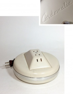 """1950-60's """"Cordomatic"""" 4-Outlet Cord Reel【Dead Stock】 - FUNNY SUPPLY"""