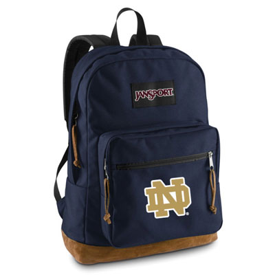 Notre Dame Fighting Irish JanSport Embroidered Right Pack Backpack