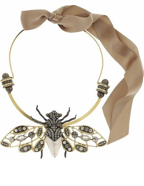 Insect necklace by Lanvin | Accessori | Pinterest