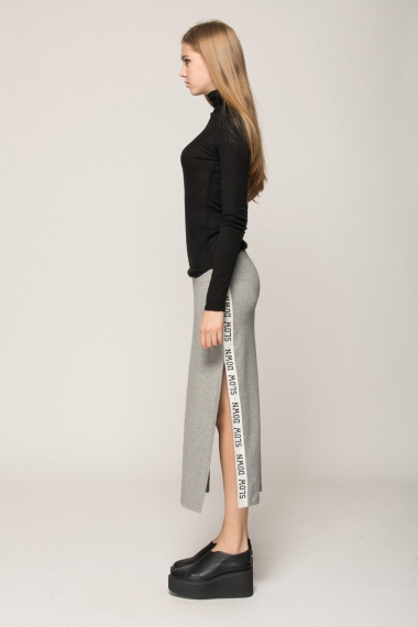 Slow Down long skirt - FrontRowShop