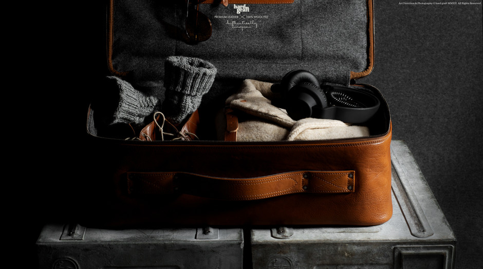 HARD GRAFT / CarryOn Suitcase