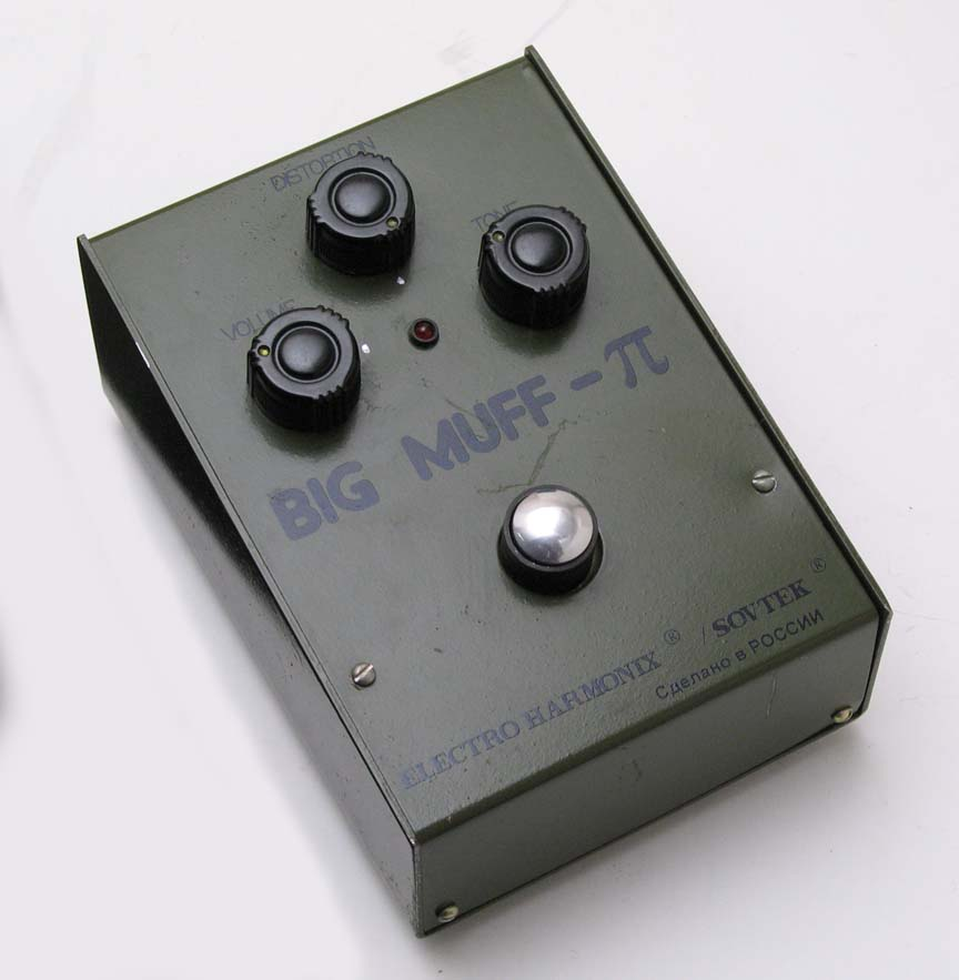 T-34 BIG MUFF BASS MOD – cubisteffects