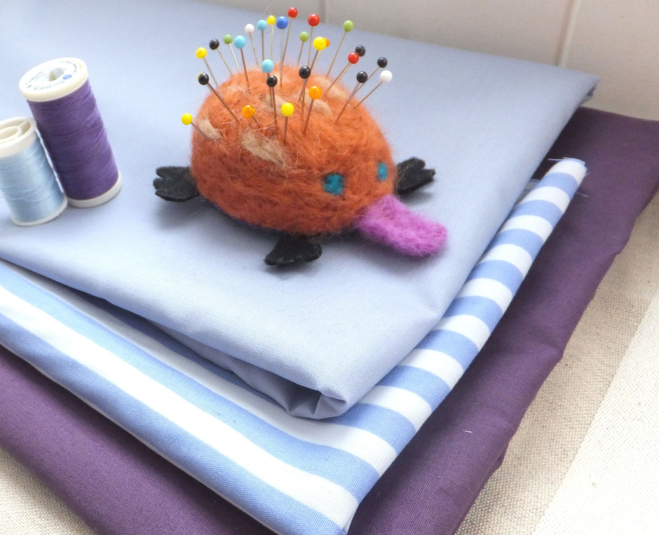 Echidna Pin Cushion by EclecticCabinet on Etsy