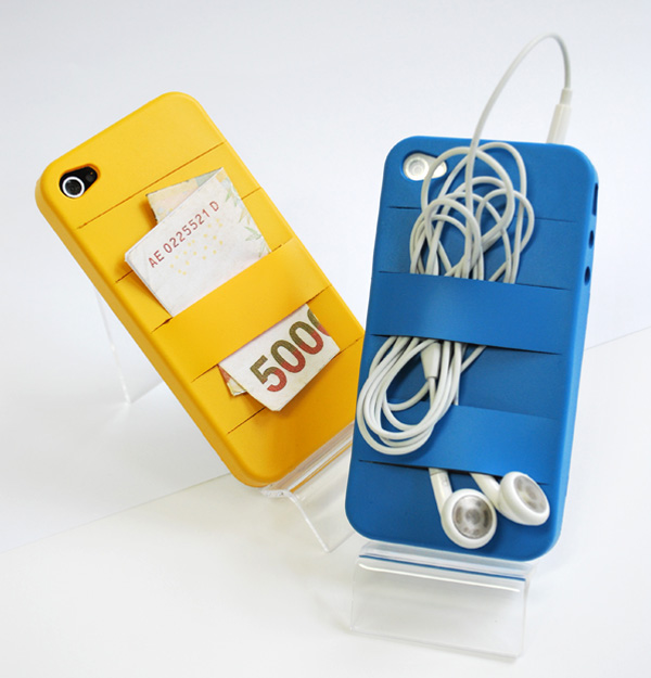 Elasty – Mobile Phone Cover by Yoori Koo » Yanko Design