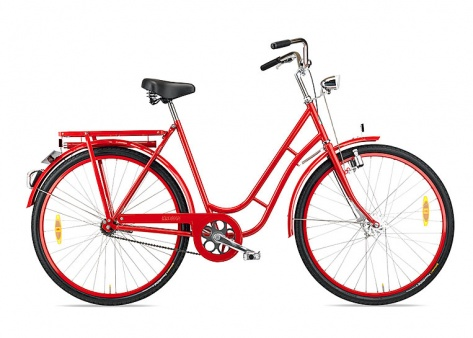 bicycle and outdoor / Lady's bicycle by Kronan