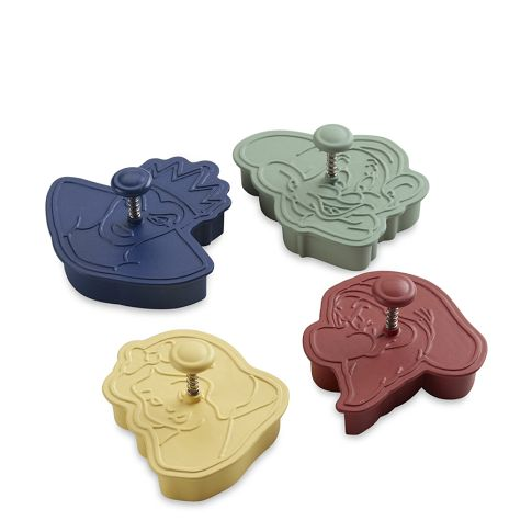 Snow White & the Seven Dwarfs Cookie Cutters, Set of 4 | Williams-Sonoma