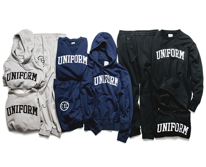 uniform experiment | PRODUCT | ARCH LOGO PULL OVER SWEAT & PANT