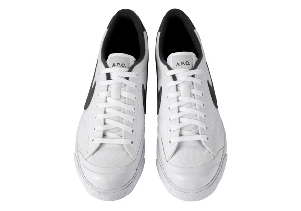 A.P.C. x Nike Sportswear All Court White/Black | Hypebeast