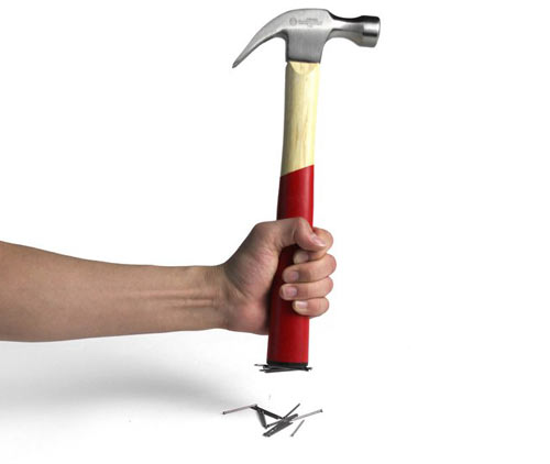 Neo The Magnetic Hammer by Jung Soo Park | Design Milk