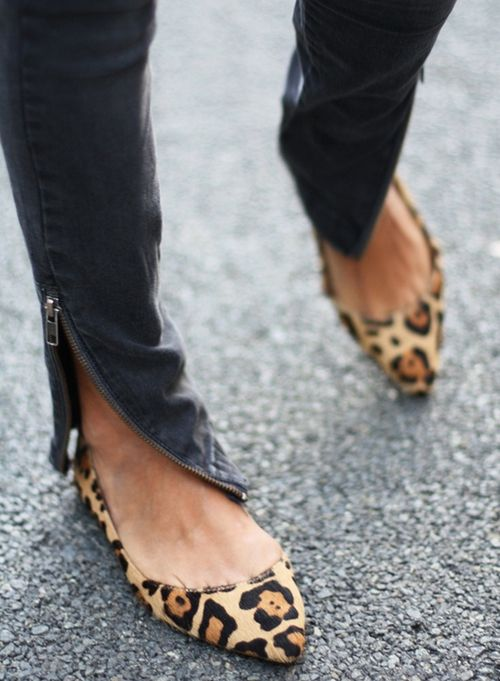 Steve Madden leopard flats | SHOES | Pinterest