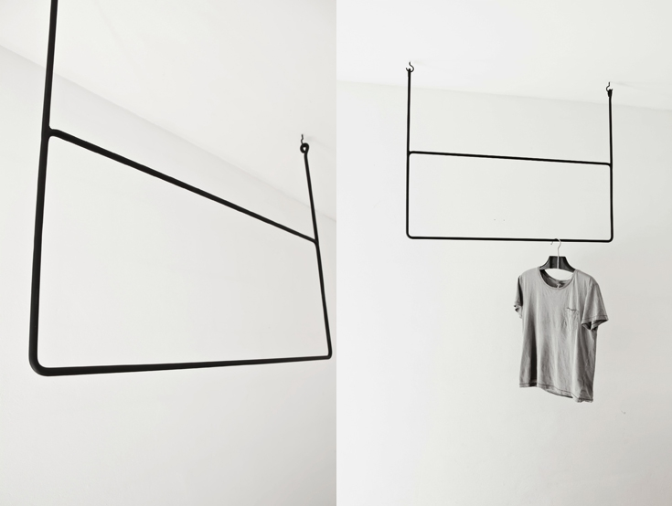 Clothing rail Rectangle