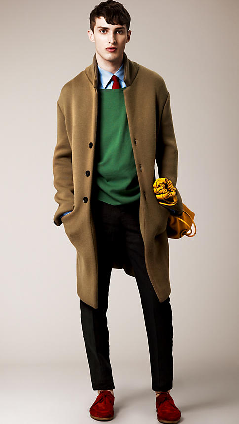 Cashmere Knit Chesterfield   Burberry