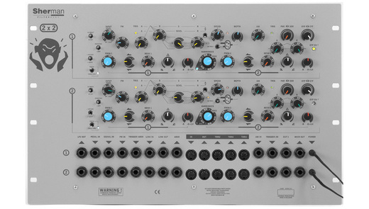 sherman Filterbank 2 Dual Rack の通販。1万円以上で全国送料無料!(Rock oN Company)