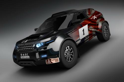 Range Rover Evoque headed to Dakar with BMW power - Photos