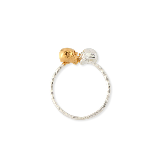 chigo online shop FROM THE CRADLE RING Skull Kissing Ring
