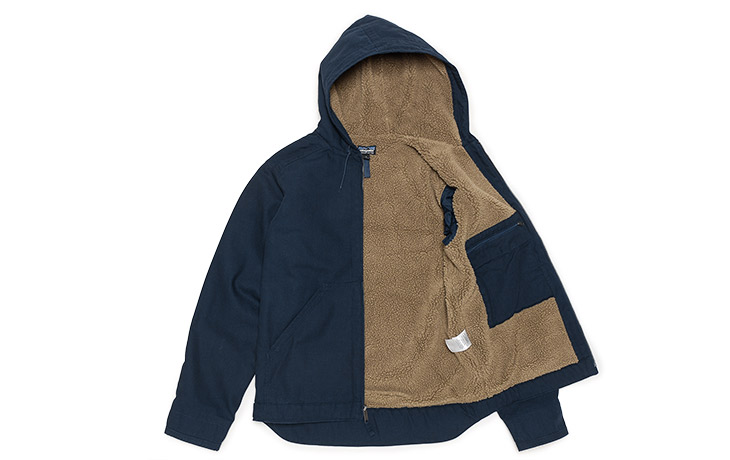 Patagonia/M's Lined Canvas Hoody-NVYB