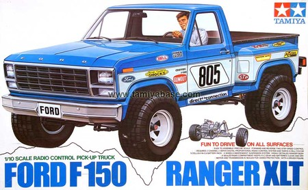 tamiya 1 10 rc ford f150 ranger xlt sumally. Black Bedroom Furniture Sets. Home Design Ideas