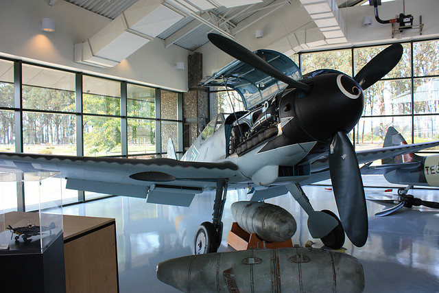BF-109 with Daimler Benz engine Evergreen Aviation Museum | Flickr - Photo Sharing!
