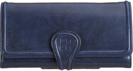 Givenchy Nightingale Continental Wallet in Blue (navy) | Lyst