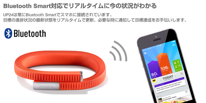 jawbone UP24 bluetooth fitness tracker