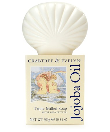 Jojoba Oil Triple Milled Shell Soap 300g | Crabtree & Evelyn