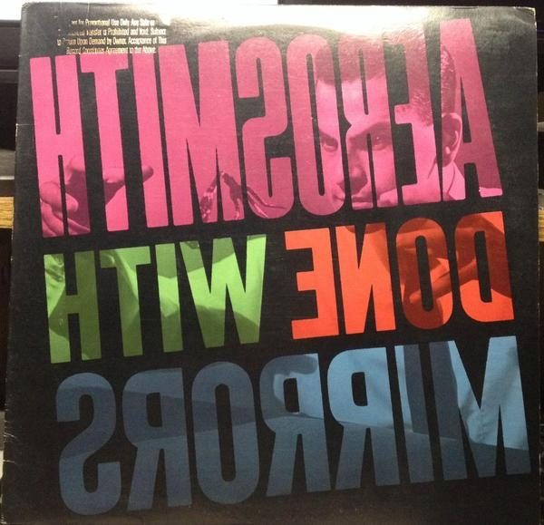 Aerosmith - Done With Mirrors at Discogs