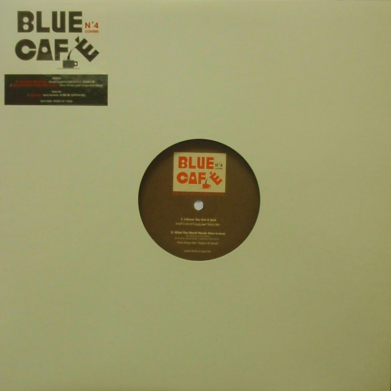 V.A. (SMALL CIRCLE OF FRIENDS, APRIL SET etc...) / BLUE CAFE VOL.4 BLUE CAFE 12inch Vinyl record 中古レコード通販