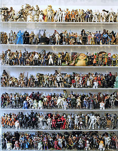 Star Wars The Ultimate Action Figure Collection Lot 1 950 Loose Figs from Book | eBay