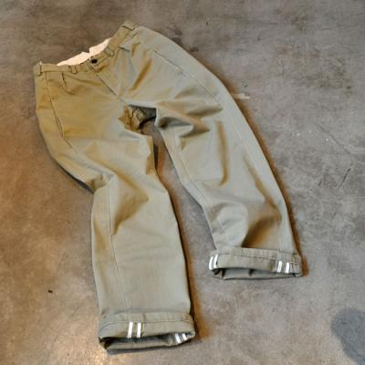 GARMENT REPRODUCTION OF WORKERS / FARMERS TROUSERS「PEOPLE」