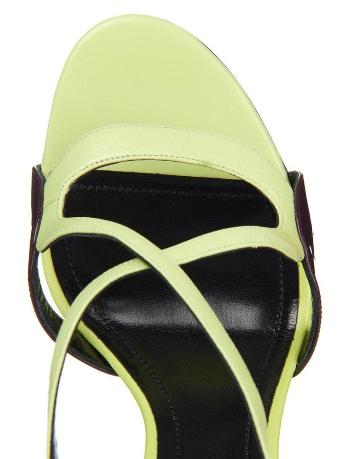 Patent-petal leather sandals | Nicholas Kirkwood | MATCHESFASH...