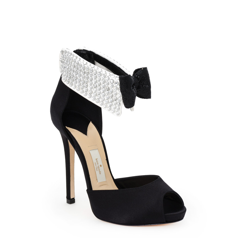 kate spade new york / shoes august black tie