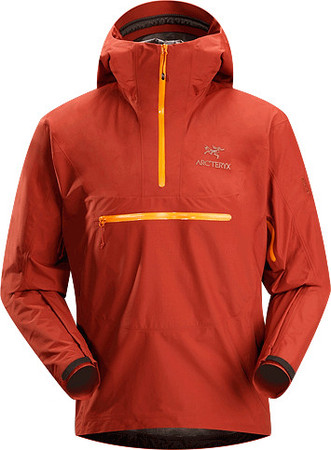 Alpha SL Pullover Men's Lightweight, waterproof, pullover-style GORE-TEX® PacLite® jacket with helmet compatible hood. Our lightest, most packable waterproof shell designed for take-anywhere emergency weather protection.