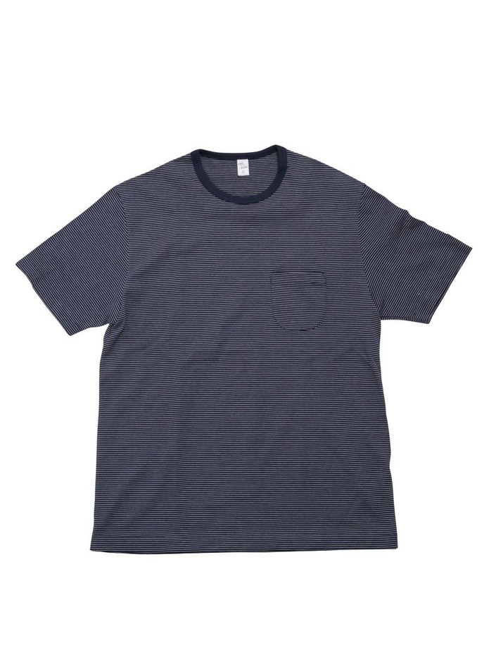 ENDS and MEANS Pocket Border Tee   DOCKLANDS Store